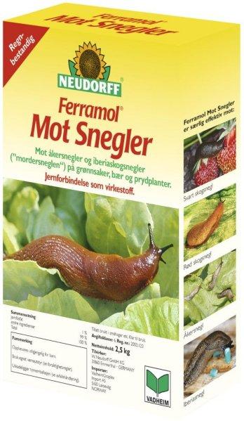Neudorff Ferramol mot snegler 2,5kg