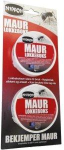 Maurlokkeboks 2-pk