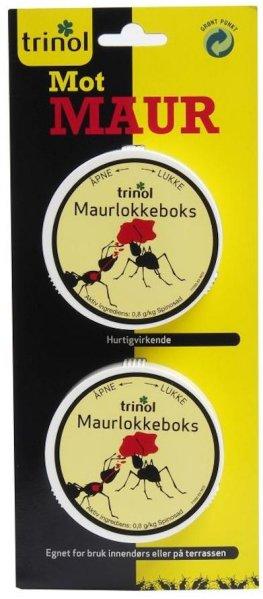 Trinol Maurlokkeboks 2-pk