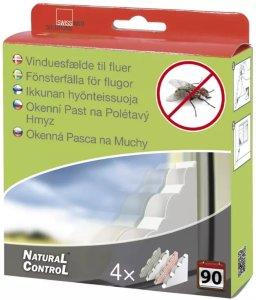 Natural Control Fluefelle Vindu 4-pk