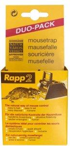 Rapp 2 Musefelle 2-pk