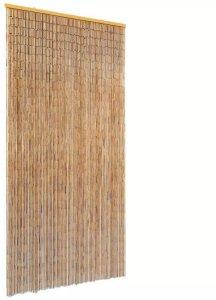 Insektdør gardin bambus 90x220cm