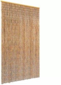 Insektdør gardin bambus 120x220cm