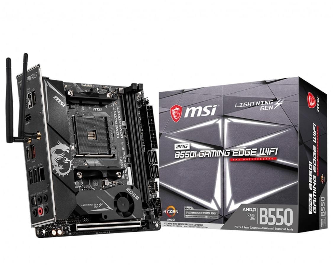 MSI MPG B550 GAMING EDGE WIFI hovedkort AMD Socket