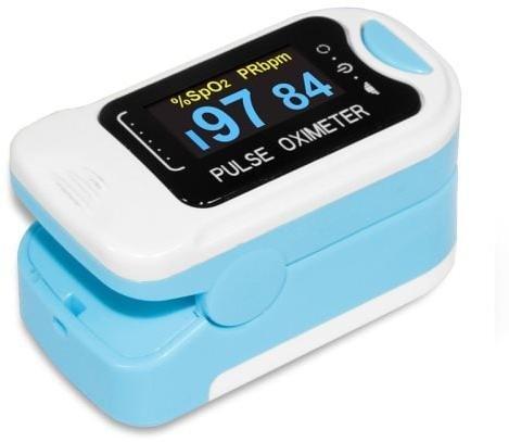 Pulsoksymeter som måler puls og oksygen