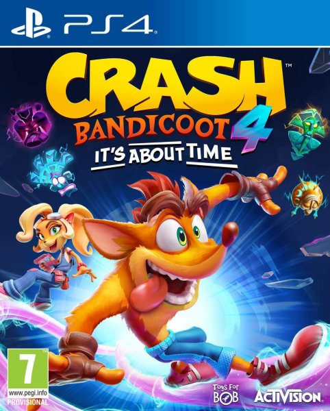 Crash Bandicoot 4: It's About Time til Playstation 4