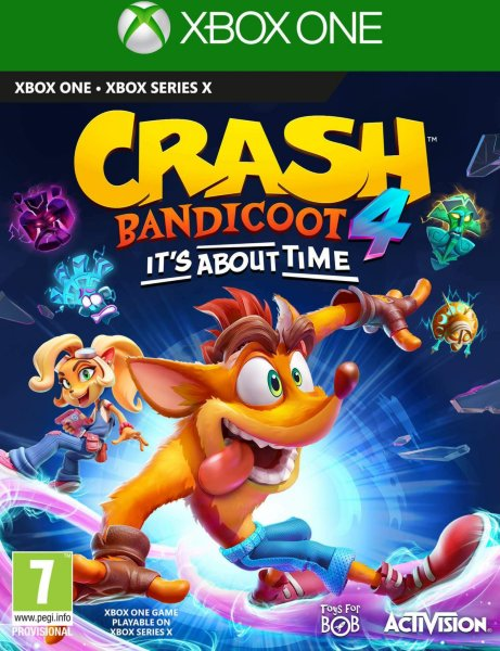 Crash Bandicoot 4: It's About Time til Xbox One