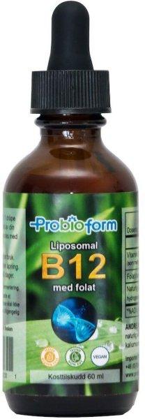 Probioform Liposomal B12 med folat 60ml