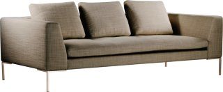 Alba 3-seter sofa tekstil
