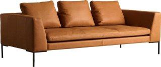 Alba 3-seter sofa skinn
