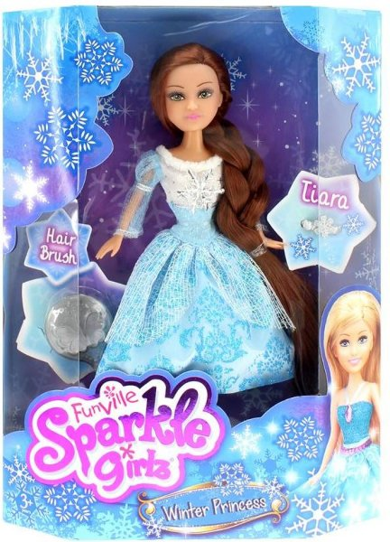 Sparkle Girlz Winter Princess (m/tilbehør)