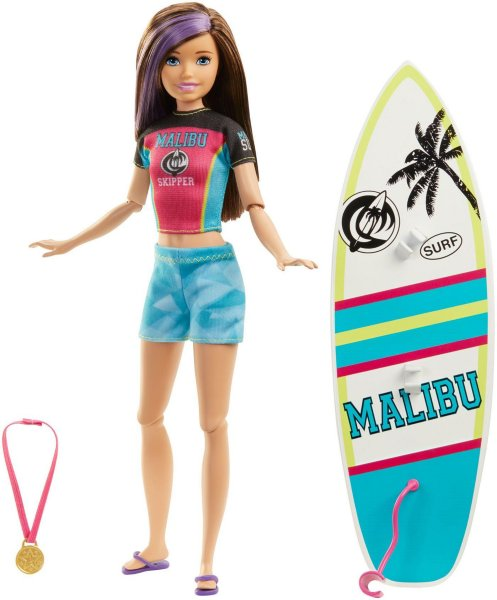 Barbie Dreamhouse Skipper Surfing