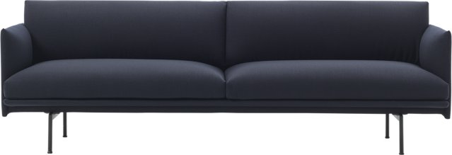 Muuto Outline 3-seter sofa