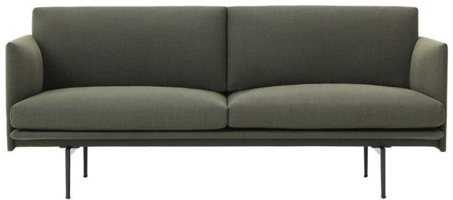 Muuto Outline 2-seter sofa
