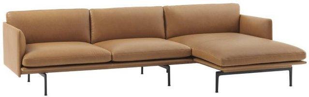 Muuto Outline chaise lounge høyre