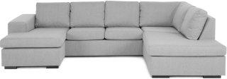 Memphis U-sofa med divan venstre