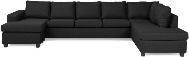 Scandinavian Choice Houston U-sofa large med divan venstre
