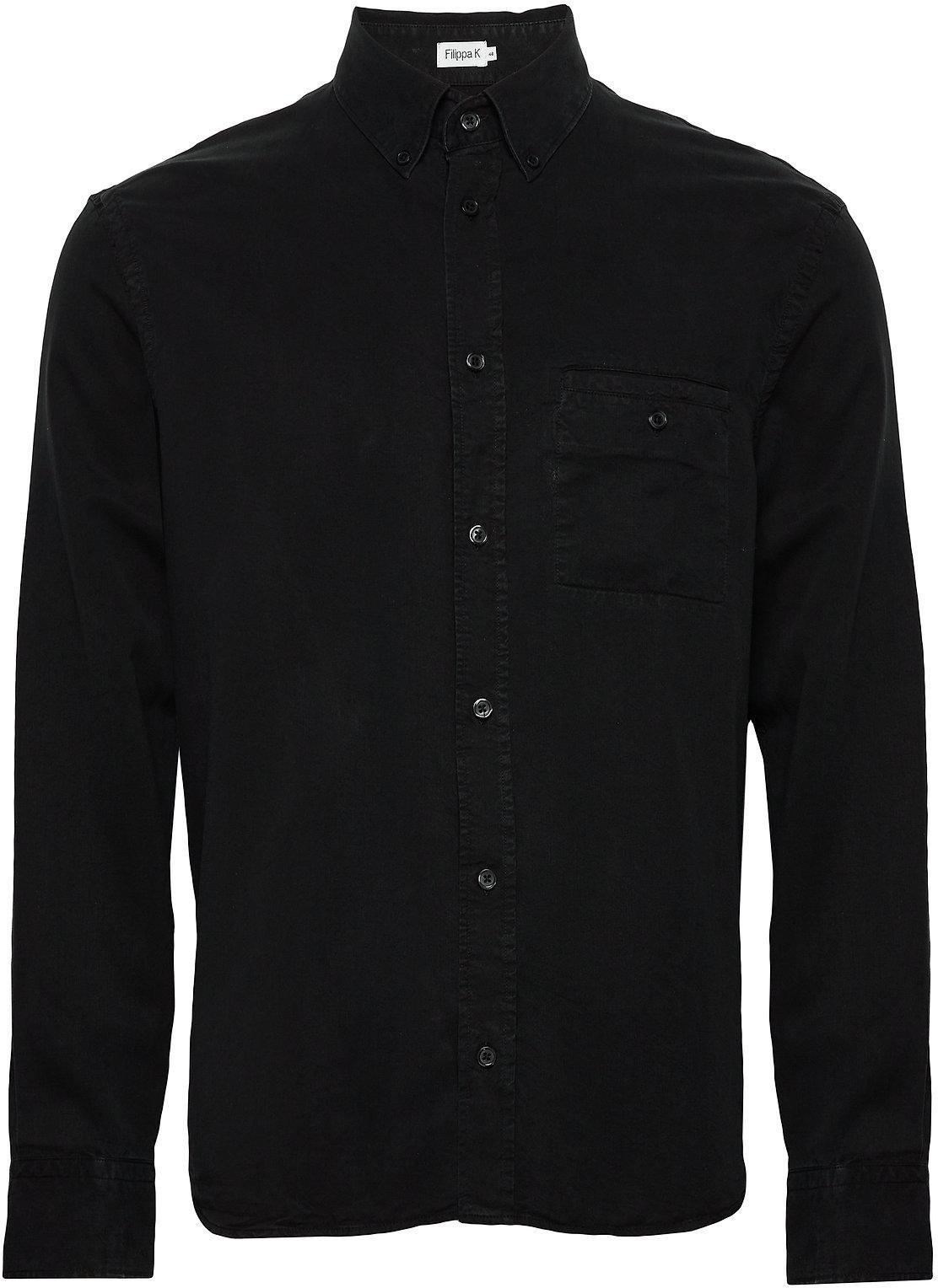 Filippa K ZACHARY - Skjorte - almost black