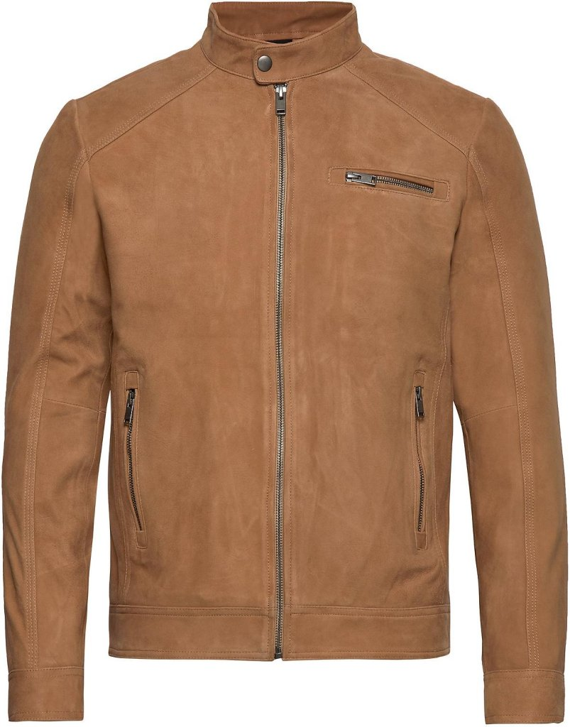Selected Homme C-01 Suede Leather Jacket