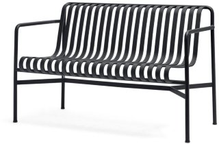 Palissade Dining Bench With Armrests