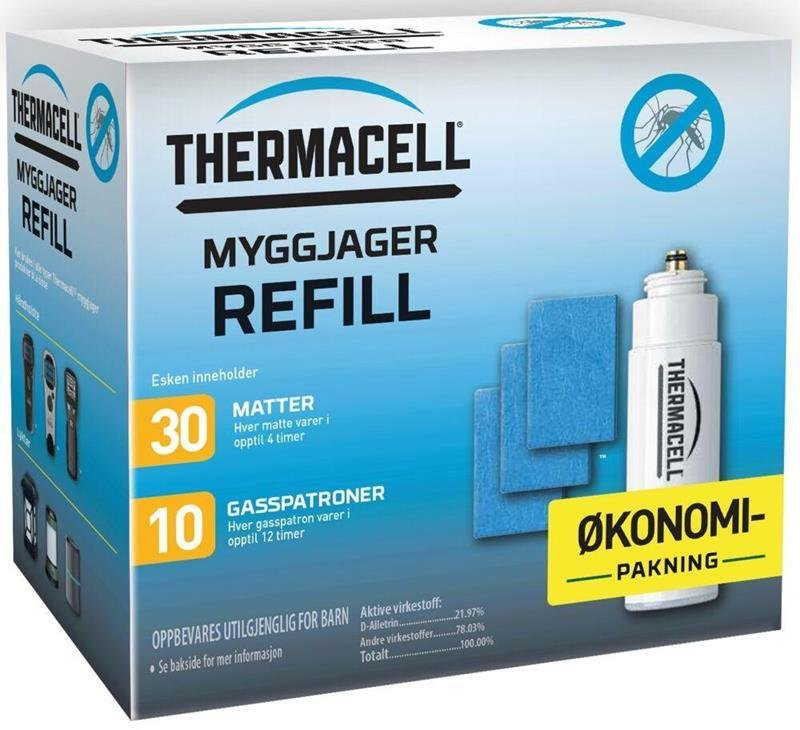 Thermacell MR Myggjager Refill (10 pk)