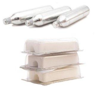 Oktanol og rensepatroner (3 stk)