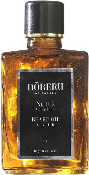 Nõberu Of Sweden Feather Beard Oil Amber Lime