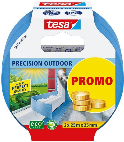 Tesa Precision Outdoor 25mm x 25m (2-pk)