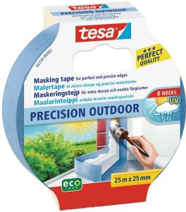 Tesa Precision Outdoor 25mm x 25m