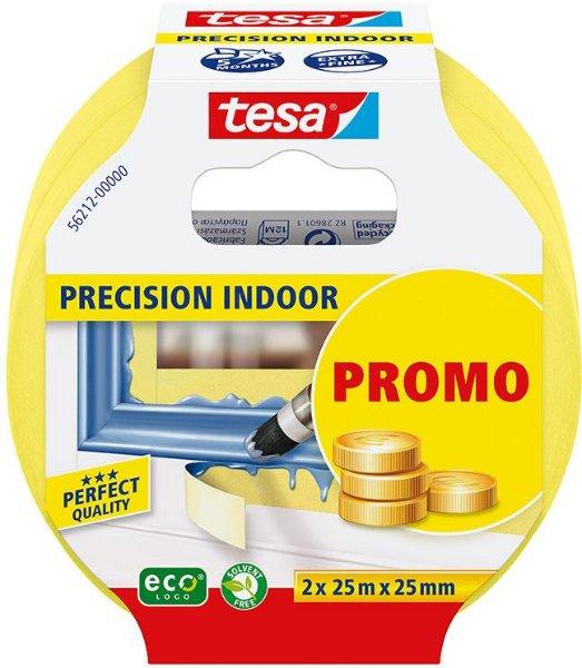 Tesa Precision Indoor 25mm x 25m (2-pk)