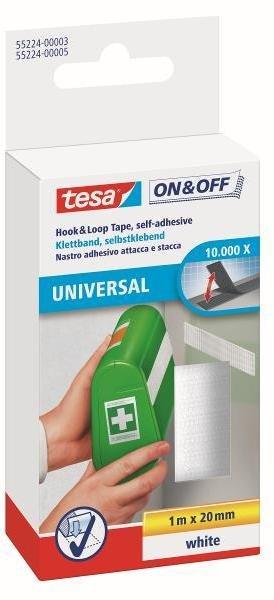 Tesa Universal Borrelåstape 20mm x 1m