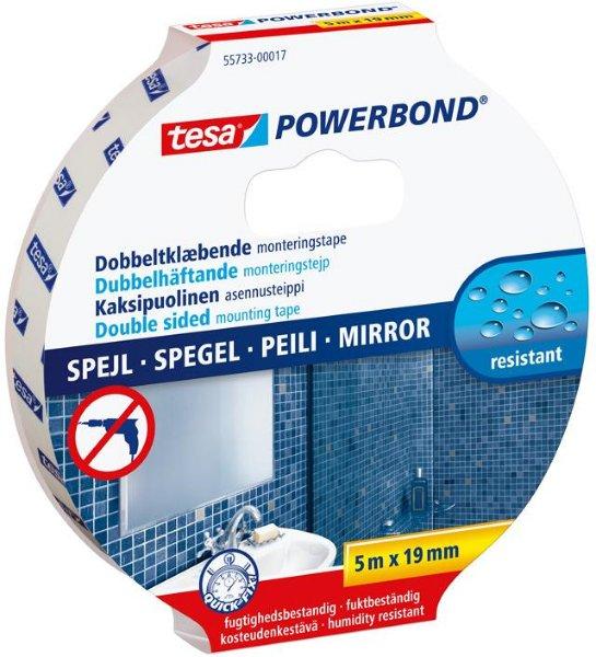 Tesa Powerbond Monteringsteip Til Speil 19mm x 5m