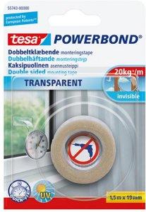 Tesa Powerbond Transparent 19mm x 1,5m