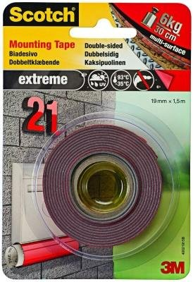 Scotch Monteringsteip Extreme 19mm x 1,5m