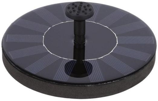 Fontene solcelleopplading rund