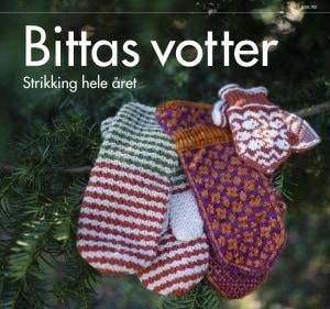 Pax Forlag Bittas votter: Strikking hele året