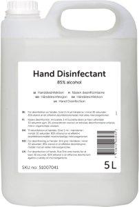 Desinfeksjon hånd 5L