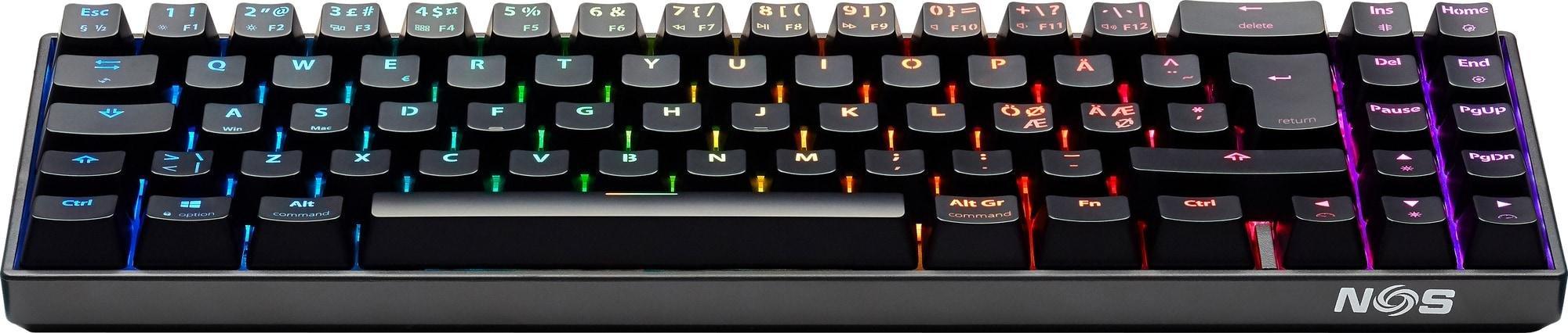 Best pris på NOS C 650 Compact PRO RGB Se priser før kjøp