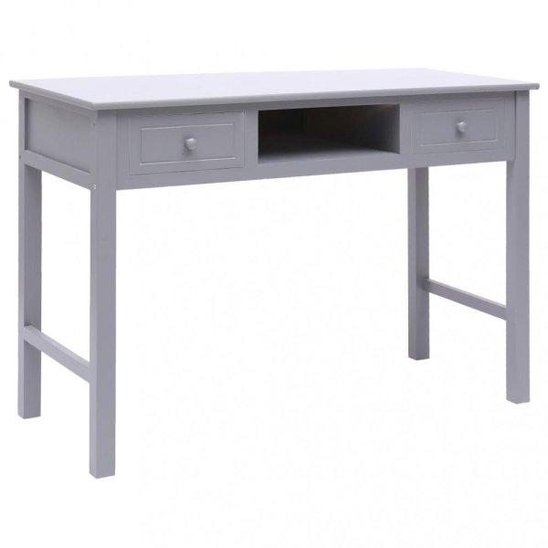 VidaXL Skrivebord tre 110x45x76cm