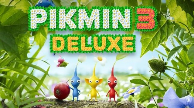 Pikmin 3 Deluxe til Switch