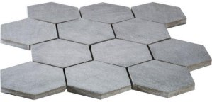 Vegro Tiles 50 Rustic Hexagon 10