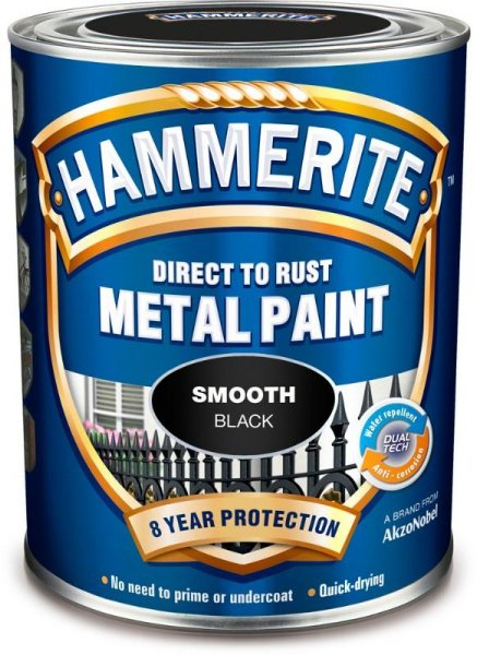 Hammerite Smooth Finish (0,25 liter)