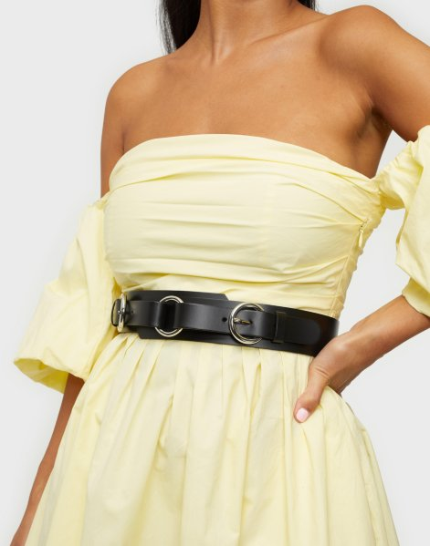 Only Abigail Leather Waist Belt