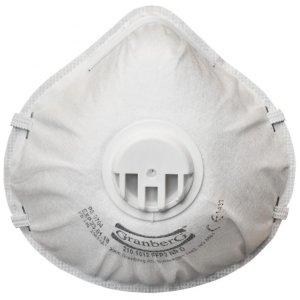 Filtermasker FFP2 NR D med ventil (10 stk)