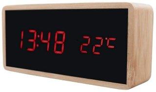 Ksix LED vekkerklokke med Trådløs Lader og Nattlampe 10W
