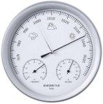 Nature 3-i-1 Barometer med termometer og hygrometer