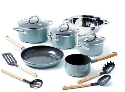 GreenPan Mayflower sett 6 deler + utstyr
