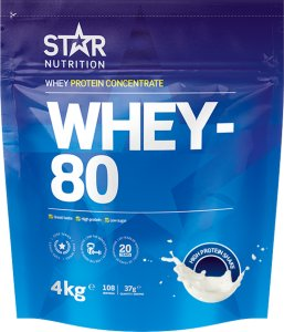 Star Nutrition Whey-80 4kg
