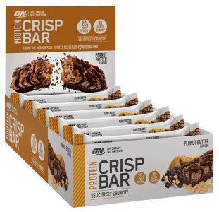Optimum Nutrition 10 x Crisp Bar 65g