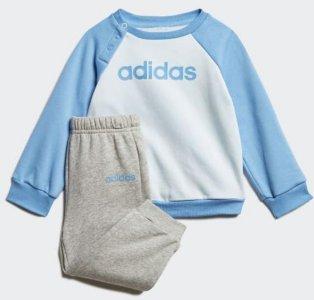 Adidas Linear Fleece Joggedress (Barn)